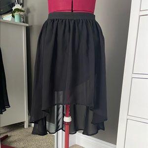 🌿2/15$ High Low Sheer Skirt
